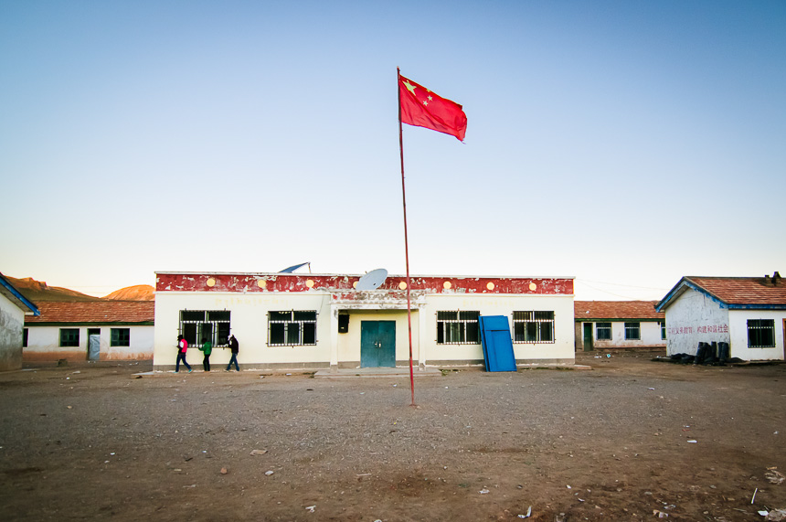 Many Tibetan families send their children to live at and attend this school.  Although, many herding families see education as unnecessary and keep children at home to answer more immediate needs.